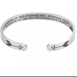 Bangle with Inspirational Msg for Daughter
